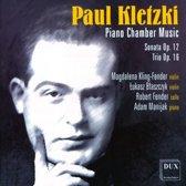 Kletzki: Piano Chamber Music