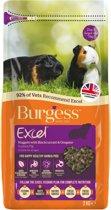 Burgess excel guinea pig blackcurrant & oregano caviavoer 2 kg