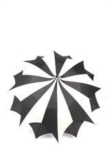 Adventure Bags Paraplu Amazoni Zwart Ivoor