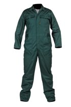 Storvik Werkoverall 65% polyester 35% katoen Heren Groen - Maat 62 - Thomas
