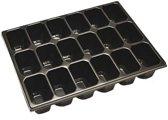 Inlay voor gereedschapskoffers 18 vaks
