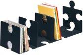 Boekensteun HAN Puzzle set a 2 stuks zwart