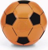 Opblaasbare oranje voetbal strandbal