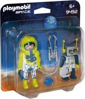 PLAYMOBIL DuoPack Astronaut en robot - 9492