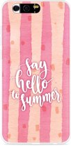 Honor 9 Hoesje Say Hello to Summer
