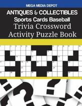 Antiques & Collectibles Sports Cards Baseball Trivia Crossword Activity Puzzle Book