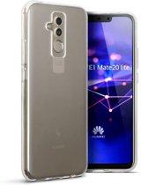 Hoesje voor Huawei Mate 20 Lite, gel case, doorzichtig