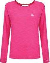 Dare 2b-Riposte L/Sleeve-Outdoorshirt-Vrouwen-MAAT XL-Roze