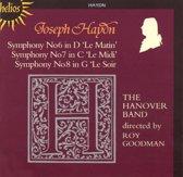 Haydn: Symphonies nos 6-8 / Roy Goodman, Hanover Band