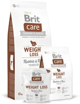 Brit Care Weight Loss Rabbit & Rice 3 kg hypo-allergeen
