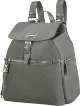 Samsonite Fashion Rugzak - Karissa Backpack 3 Pockets 1 Buckle Gunmetal Green