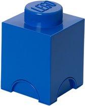 Lego Storage Brick - 12,5 cm x 12,5 cm x 18 cm - Blauw
