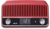 Akai APR500 - Draadloze radio - Rood