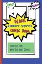 Blank Aircraft Spotter Comic Book