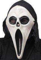Halloween - Glow in dark Scream masker