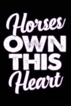 Horse Own This Heart