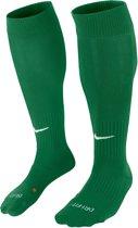 Nike Classic II Cushion Sportsokken - Maat 38 - Unisex - groen/wit Maat M: 38-42