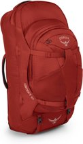 Osprey Farpoint 55 Reisbagage rood Maat S/M