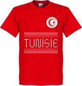 Tunesië Team T-Shirt - Rood - XL