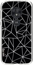 Casetastic Softcover Motorola Moto G7 Play - Abstraction Outline