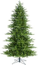 Black box kunstkerstboom macallan pine maat in cm: 155 x 104 groen