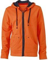 Oranje Urban herenvest XL