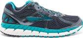 Brooks Ariel 16  Sportschoenen - Maat 38.5 - Vrouwen - donker grijs/blauw/wit