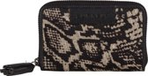 BURKELY EVENING Hair-on mini wallet - Python wit