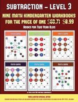 Books for Two Year Olds (Kindergarten Subtraction/Taking Away Level 3)