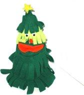 handschoen kerstboom