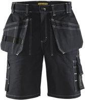 Blaklader Blåkläder Short katoen zwart - maat C52