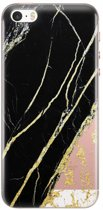 iPhone 5/5S/SE transparant hoesje - Stay golden