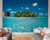 Malediven Strand - Fotobehang 366 x 254 cm