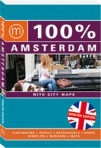 100% Amsterdam ( Eng.) / Druk Heruitgave