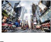 Glas schilderij Times Square New York 80x120cm