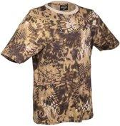 T-Shirt Camo Mandra Tan mandra tan