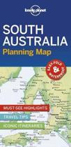 Lonely planet: south australia planning map (1st ed)