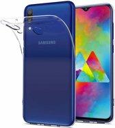 Ntech Samsung Galaxy M20 Transparant Hoesje / Crystal Clear TPU Case