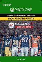 Madden NFL 17: 8900 Madden Points - Xbox One