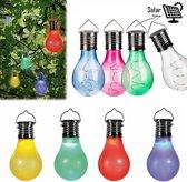 LED gloeilamp met solar – tuinverlichting – 12 stuks   Pride Kings®