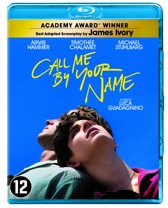 DVD cover van Call Me By Your Name (Blu-ray)