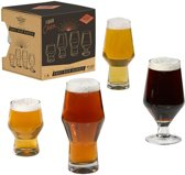 Gentlemen's Hardware Craft Bierglazen Set van 4