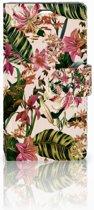 LG Magna | G4C Uniek Boekhoesje Flowers