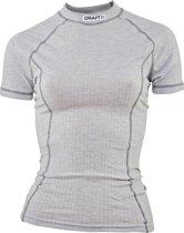 craft active womens shortsleeve - Sportshirt - Dames - Maat XL -Grijs