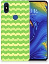 TPU bumper Xiaomi Mi Mix 3 Waves Green