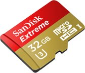 Sandisk Extreme Micro SDHC 32GB +SD AD. 60MB Class 10 U3