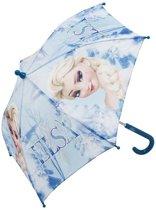 Disney Frozen Paraplu - Elsa (Blauw)
