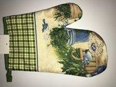 Oven Handschoen Vogels