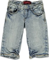 jongens Korte broek Blue Rebel Jongens Jeans short ROCKY snow wash - Blauw - Maat 92 8717529975574