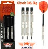 BULL'S Classic 80% dartpijlen 25 gram